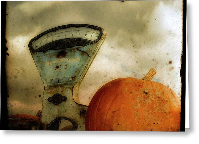 Halloween Scene Greeting Cards - Gothic Spice Greeting Card by Gothicolors Donna Snyder