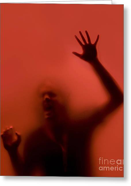 Disturbing Greeting Cards - The Scream Greeting Card by Diane Diederich