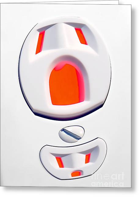 Electrical Plug Greeting Cards - The Scream - Electric Greeting Card by Olivier Le Queinec