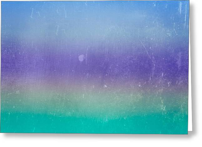 Abstract Digital Art Greeting Cards - The Sea Greeting Card by Peter Tellone