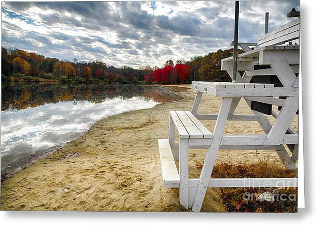 Hunterdon County Greeting Cards - The Season is Over Greeting Card by George Oze