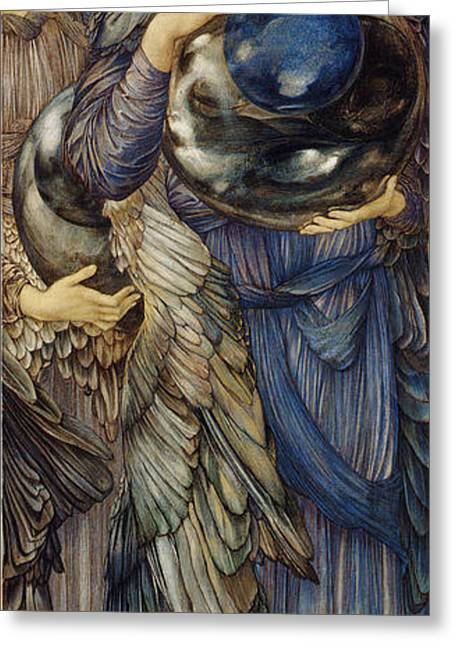 Second Lady Greeting Cards - The Second Day Greeting Card by Edward Burne Jones