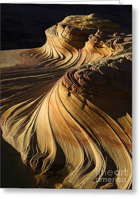 Greeting Cards - The Second Wave Arizona 4 Greeting Card by Bob Christopher