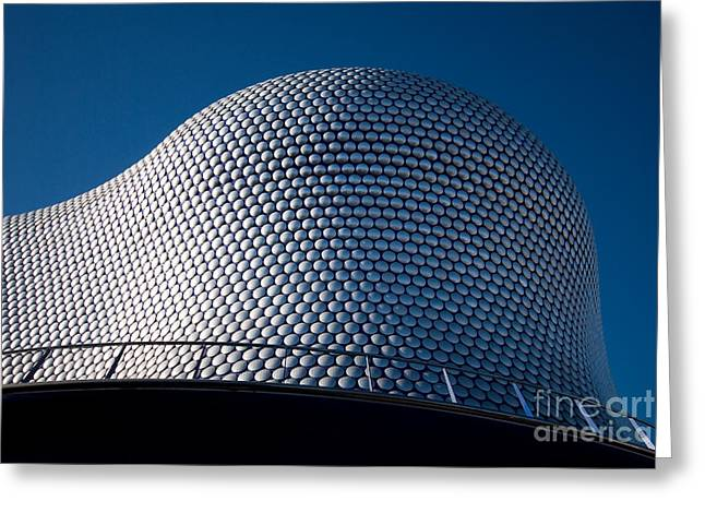 Disk Greeting Cards - The Selfridges Building Greeting Card by Anne Gilbert