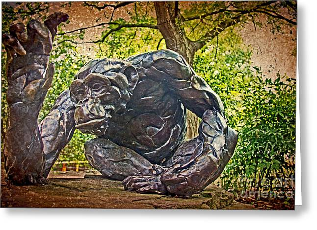 Gathering Greeting Cards - The Servant  Greeting Card by Tom Gari Gallery-Three-Photography