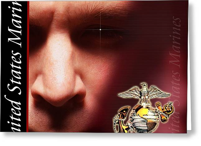 Recruiting Greeting Cards - The Sgt Greeting Card by Annette Redman