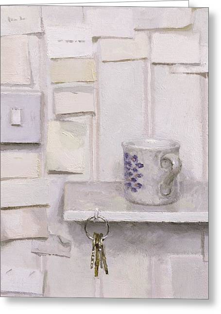 Bunch Greeting Cards - The Shelf Greeting Card by Charles E Hardaker