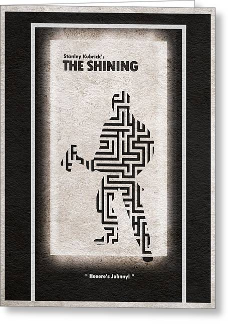 Labyrinth Greeting Cards - The Shining Greeting Card by Ayse Deniz