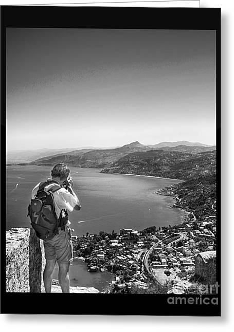 Travel Photographs Greeting Cards - The shooter Greeting Card by Stefano Senise