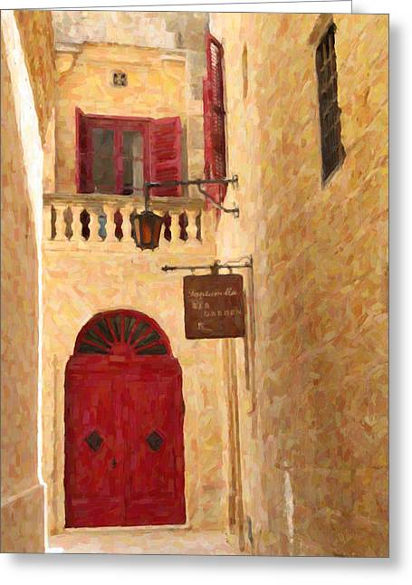Best Seller Pastels Greeting Cards - The Silent City Greeting Card by Jon Delorme