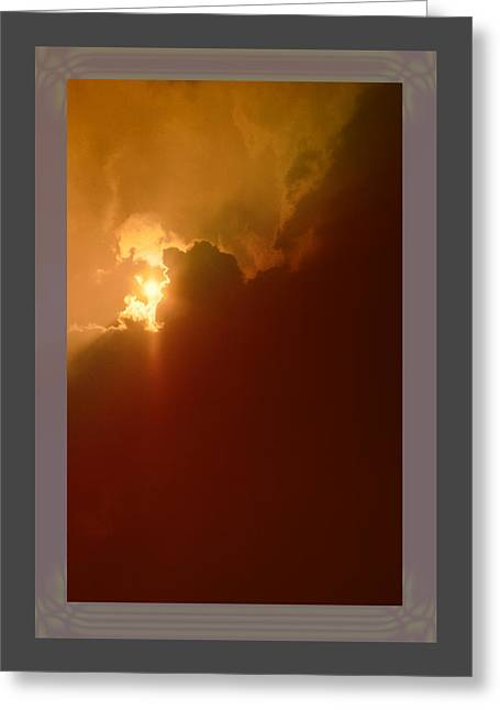 Kellice Greeting Cards - The Simple Beauty of Light Greeting Card by Kellice Swaggerty