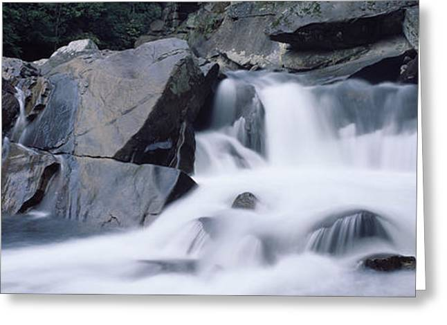 Tennessee Landmark Greeting Cards - The Sinks, Little River, Great Smoky Greeting Card by Panoramic Images