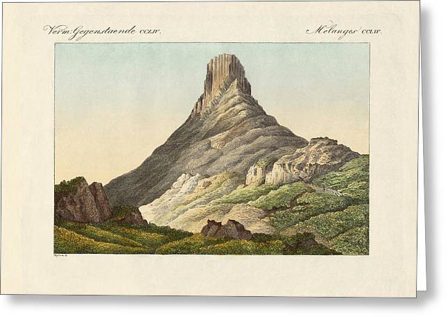 Berges Greeting Cards - The skuir on the Egg Island Greeting Card by Splendid Art Prints