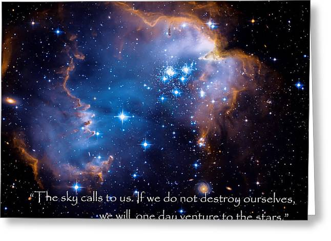 Outer Space Greeting Cards - The Sky  Greeting Card by Bill  Wakeley