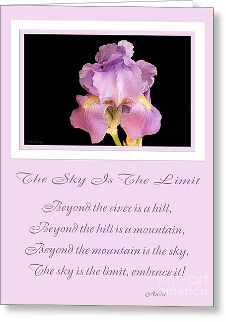 The Hills Greeting Cards - The Sky Is The Limit V 10 Greeting Card by Andee Design