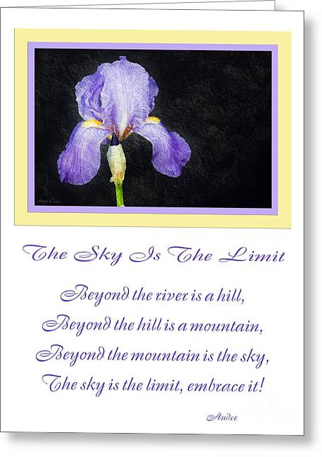 The Hills Greeting Cards - The Sky Is The Limit V 9 Greeting Card by Andee Design