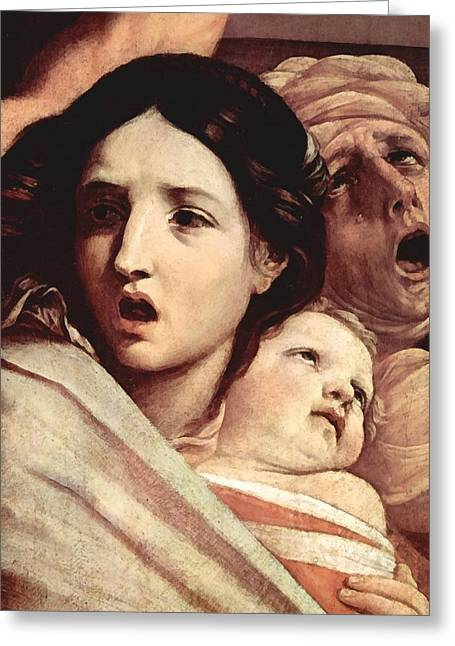 The Followers Digital Art Greeting Cards - The Slaughter Of The Innocents Greeting Card by Guido Reni
