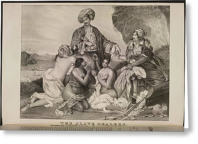 The Slave Dealers Greeting Card by British Library
