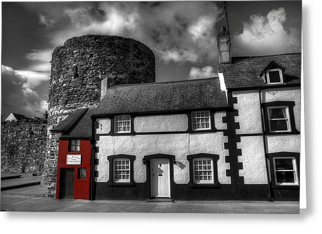 Small House Greeting Cards - The Smallest House in Great Britain Greeting Card by Mal Bray