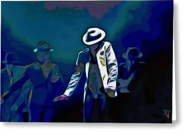 The Smooth Criminal Greeting Card by  Fli Art