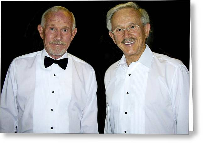 The Smothers Brothers Tommy And Dick Smothers Greeting Card by Rebecca Dru