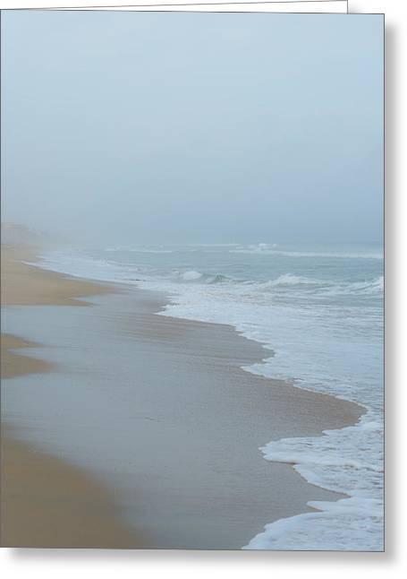 California Beach Greeting Cards - The Soft Sea Greeting Card by Joseph Smith