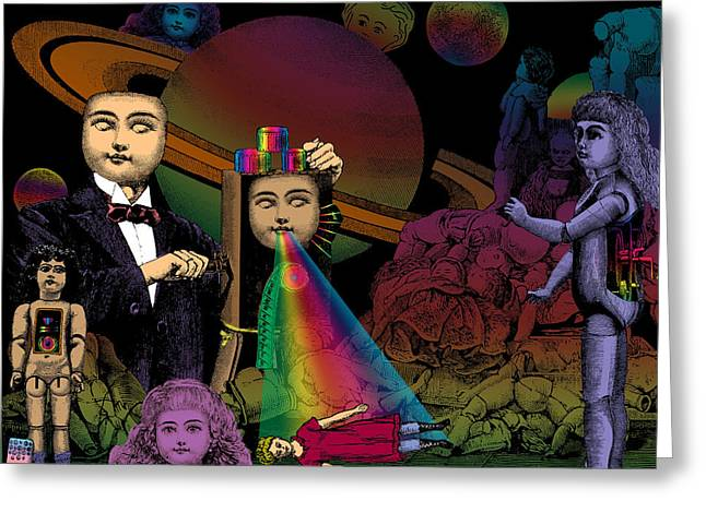 Recently Sold -  - Fabled Greeting Cards - The Soul Mender Greeting Card by Eric Edelman