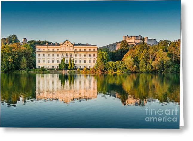 Salzburg Greeting Cards - The Sound of Music Greeting Card by JR Photography