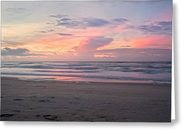 Topsail Island Greeting Cards - The Sound of Softness Greeting Card by Betsy C  Knapp