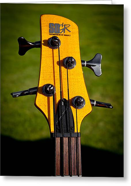 The Soundgear Guitar By Ibanez Greeting Card by David Patterson