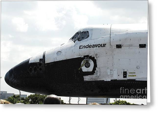 The Space Shuttle Endeavour 1 Greeting Card by Micah May