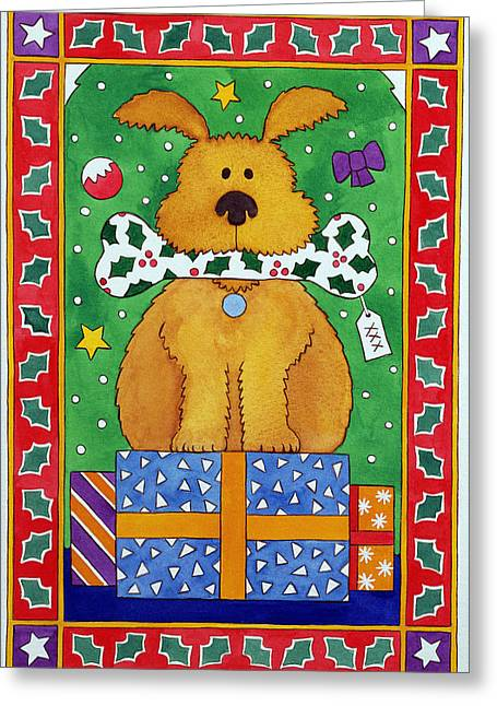 The Special Present Greeting Card by Cathy Baxter