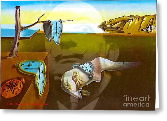 Fame Greeting Cards - The Spirit of Dali Famous Artists Series Greeting Card by Jerome Stumphauzer