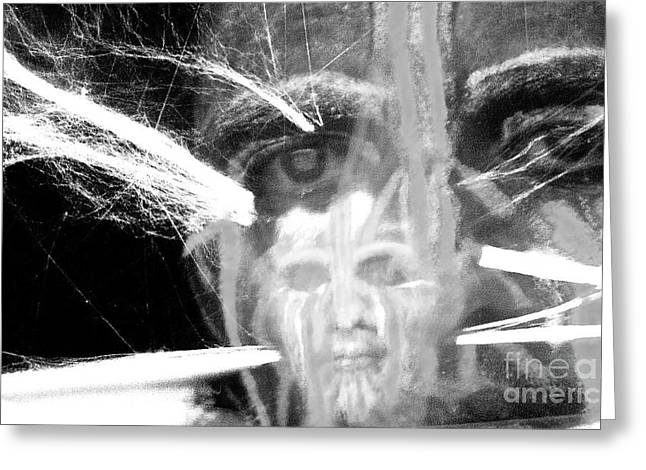 Hallucination Greeting Cards - The Spirit Within Greeting Card by Xn Tyler