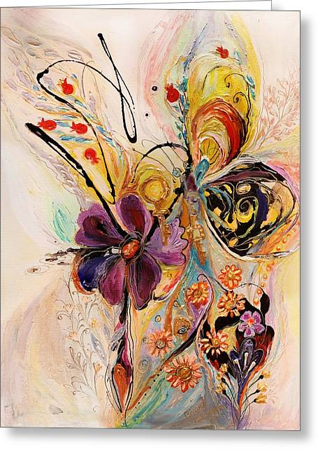 The Splash Of Life Series No 2 Greeting Card by Elena Kotliarker