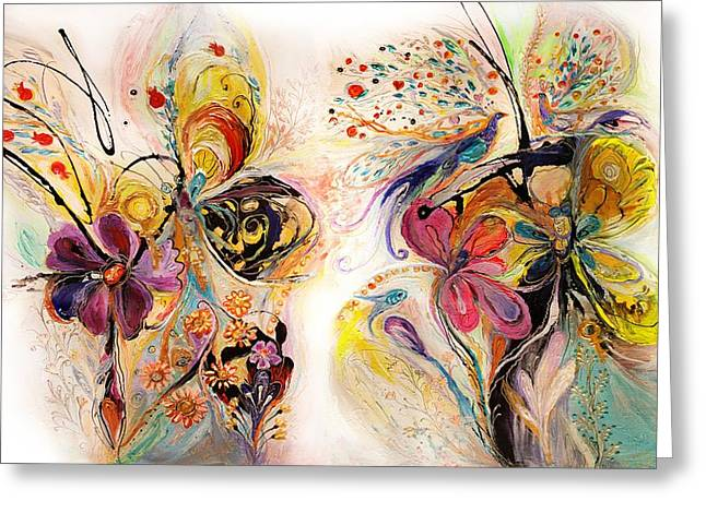 Auction Greeting Cards - The Splash Of Life series No 23 Greeting Card by Elena Kotliarker