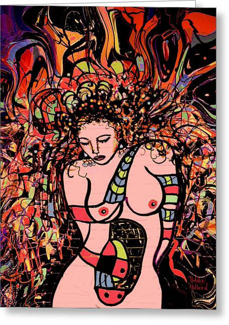Fleshtones Greeting Cards - The Splendor of Beauty Greeting Card by Natalie Holland