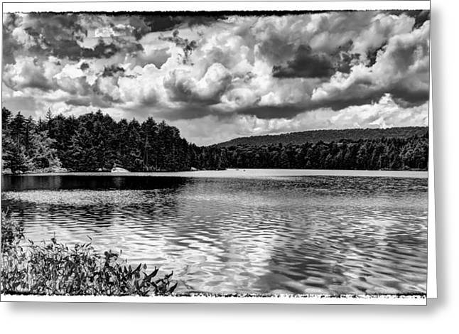 Old And New Greeting Cards - The Splendor of Bubb Lake Greeting Card by David Patterson