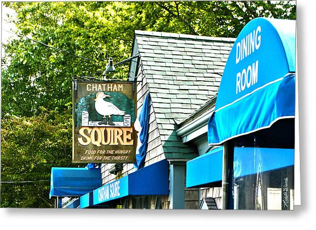 Michelle Greeting Cards - The Squire Greeting Card by Michelle Wiarda