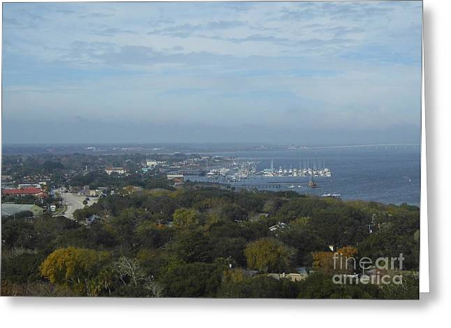 Top Seller Greeting Cards - The St Augustine Inlet Greeting Card by D Hackett