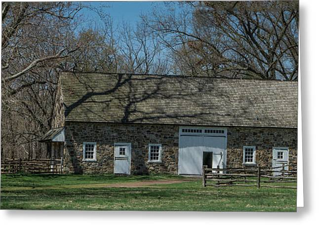 Pennsbury Greeting Cards - The Stable @ Pennsbury Greeting Card by Capt Gerry Hare