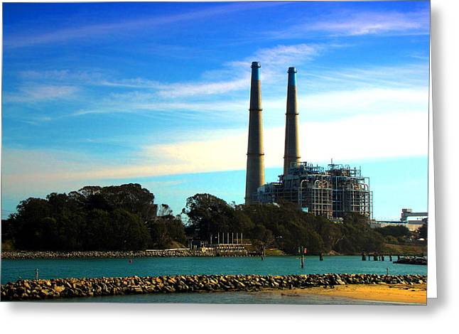 Moss Landing Boats Greeting Cards - The Stacks Moss Landing CA Greeting Card by Joyce Dickens