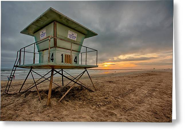 Hdr (high Dynamic Range) Greeting Cards - The Stand Greeting Card by Peter Tellone