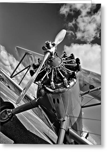 David Patterson Greeting Cards - The Stearman Airplane Greeting Card by David Patterson