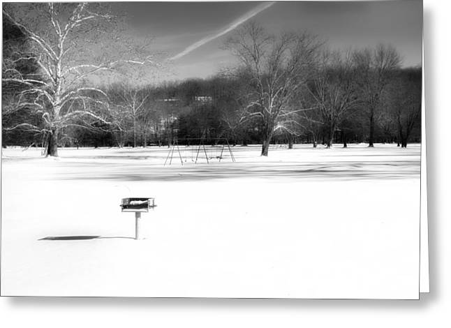 Winter In New England Greeting Cards - The Stillness of Winter Greeting Card by Bill  Wakeley