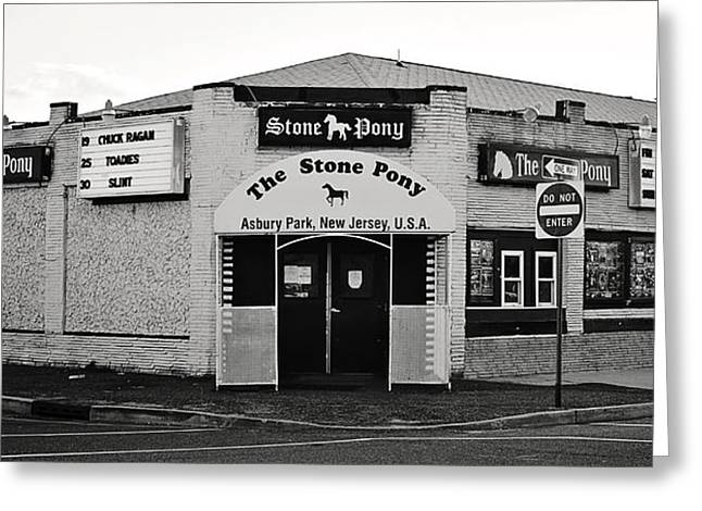 Bruce Springsteen Art Greeting Cards - The Stone Pony Asbury Park New Jersey Greeting Card by Terry DeLuco