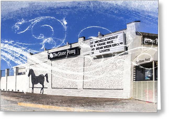 Ocean Art. Beach Decor Greeting Cards - The Stone Pony  Greeting Card by Geraldine Scull