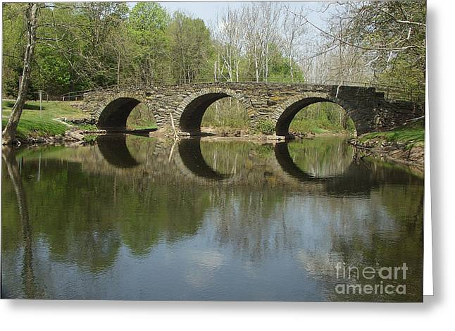 Dantzler Greeting Cards - The Stonearch Bridge Greeting Card by Andrew Govan Dantzler