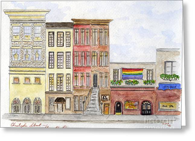 The Stonewall Inn Greeting Card by AFineLyne