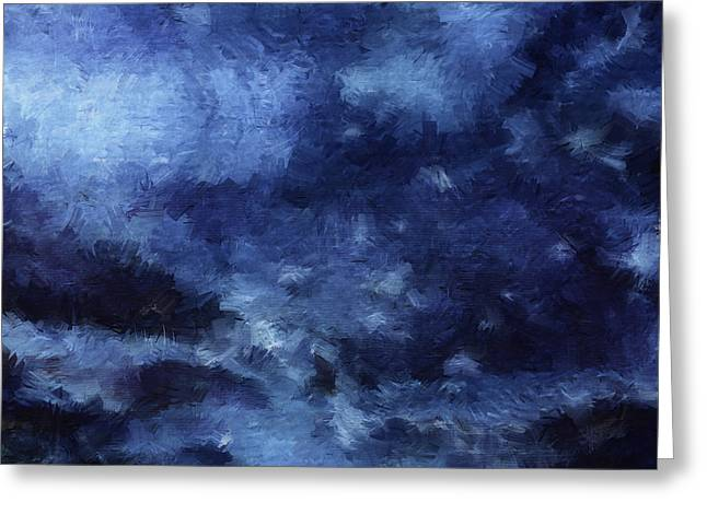 Storm Prints Digital Art Greeting Cards - The Storm Greeting Card by Sydne Archambault